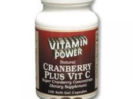 Cranberry Plus Caps (with Vitamin C - 100mg)
