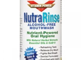 Nutra Rinse Alcohol free Nutrient-Powered Mouthwash